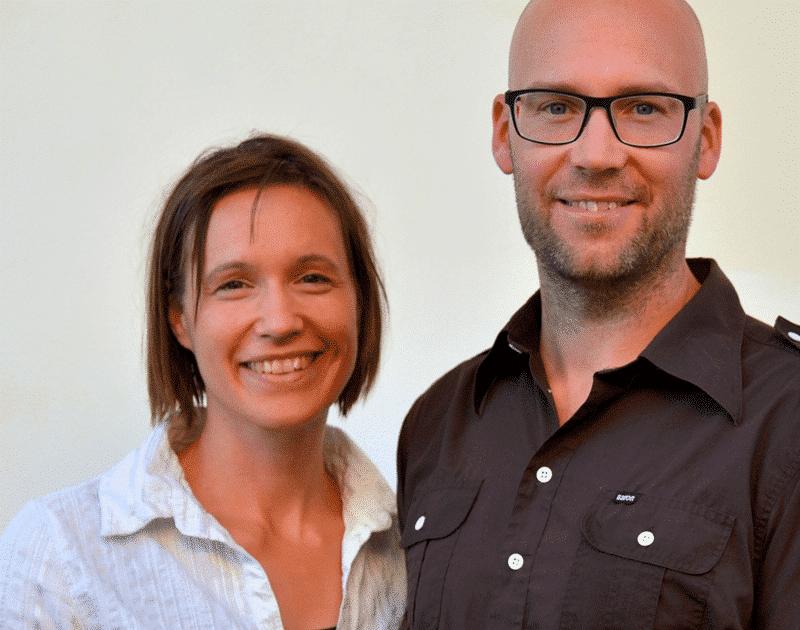 Kristine Frisenfeldt Horn og Jesper Rubech